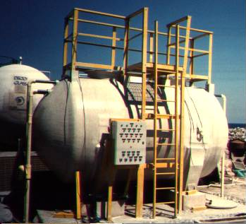 Wastewater treatment plants Aerobic Fiberglass