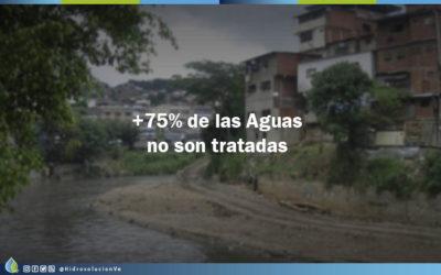 Más de 75% de las aguas servidas de Venezuela no son tratadas